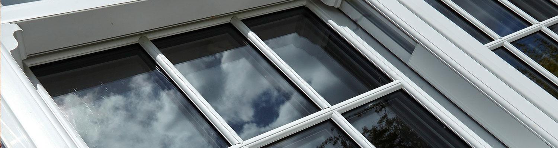 Sash Window Close Up